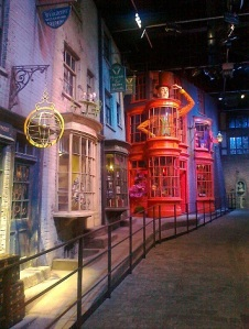 Diagon Alley, Warner Bros. Studio Tour, London.