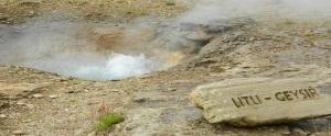 Litle geyser