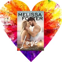 Rosie's #Bookreview Of #ContemporaryRomance TEMPTED BY LOVE (The Steeles Of Silver Island #1) by @Melissa_Foster